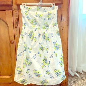 Old Navy strapless summer dress size 4